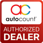 autocount authorized dealer logo