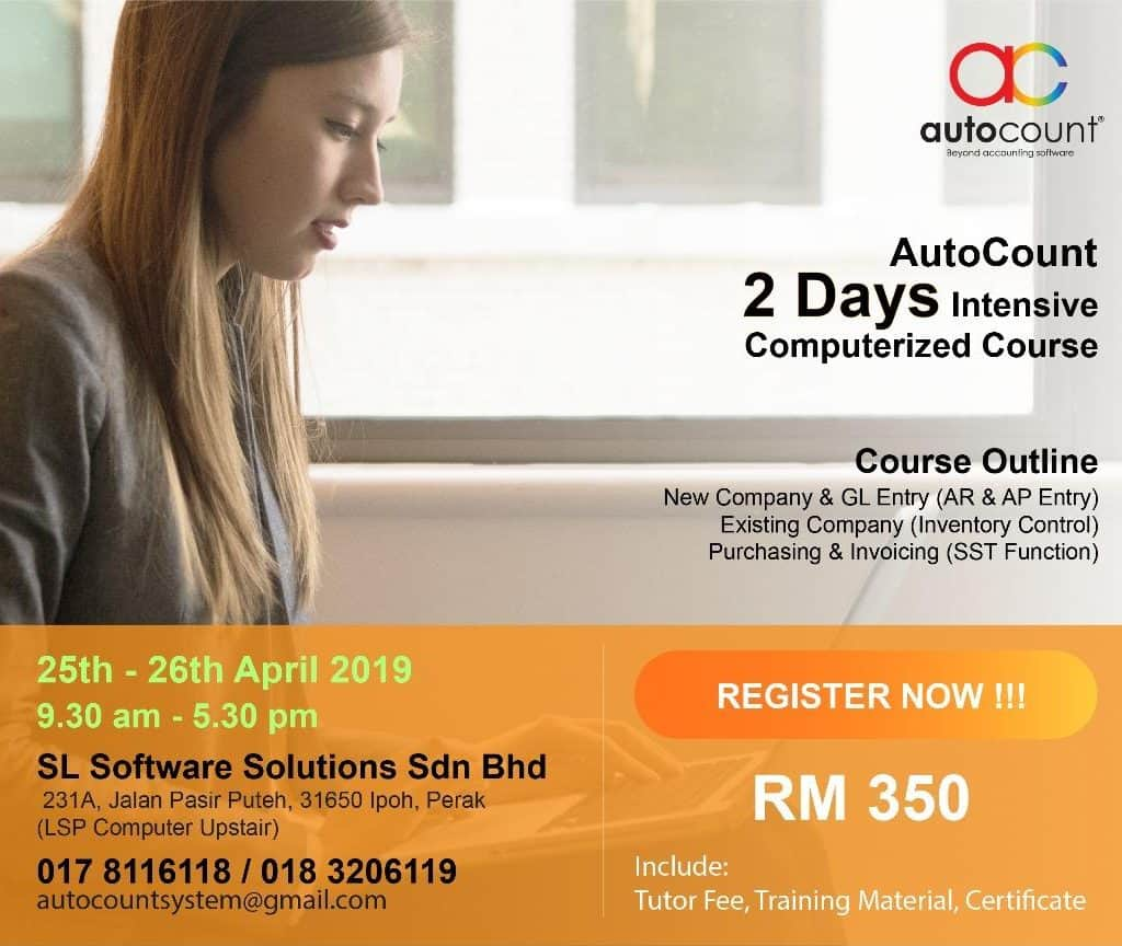 autocount computerized course